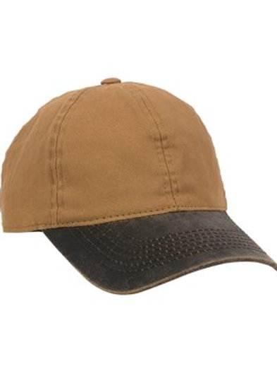 Outdoor Cap - Canvas Cap with Weathered Cotton Visor - HPK100