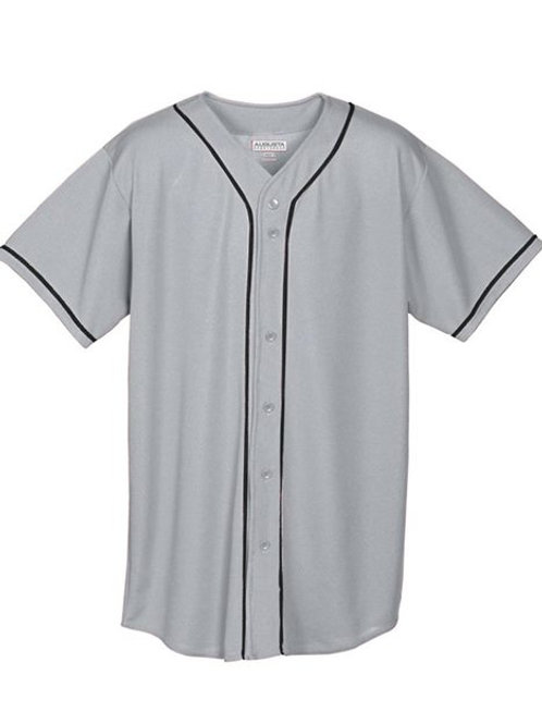 Augusta Sportswear - Youth Wicking Mesh Button Front Jersey - 594