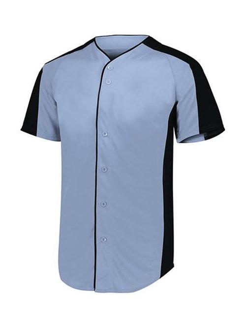 Augusta Sportswear - Youth Full Button Baseball Jersey - 1656