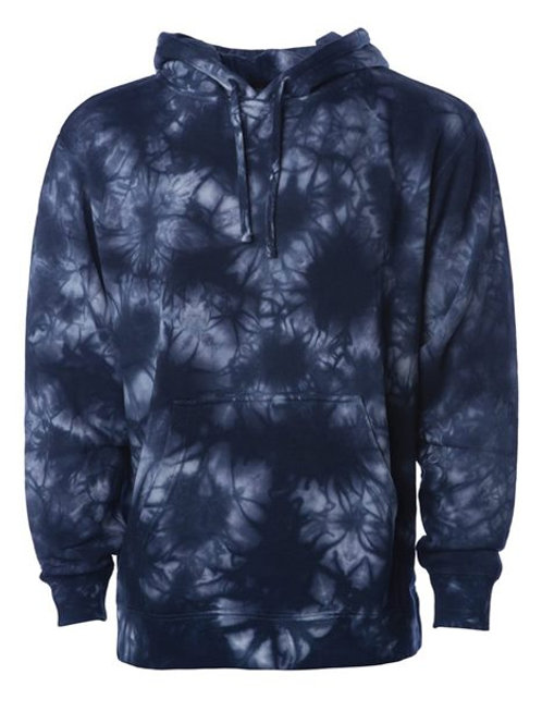 Independent Trading Co. - Midweight Tie-Dyed Hooded Sweatshirt - PRM4500TD