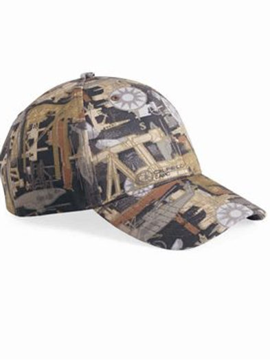 Kati - Structured Oilfield Camo Cap - OIL15