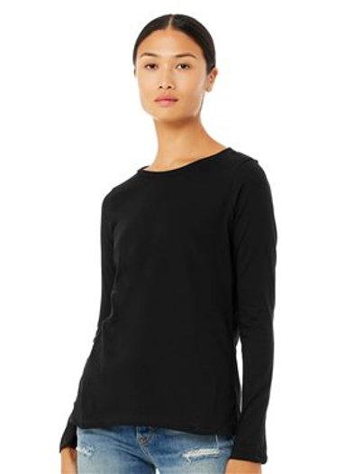 BELLA + CANVAS - Women's Relaxed Jersey Long Sleeve Tee - 6450