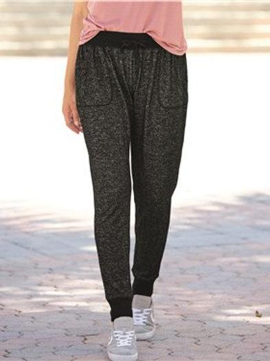 J. America - Women's Cozy Jersey Joggers - 8657