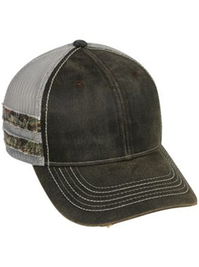 Outdoor Cap - Frayed Camo Stripes Cap - HPC400M