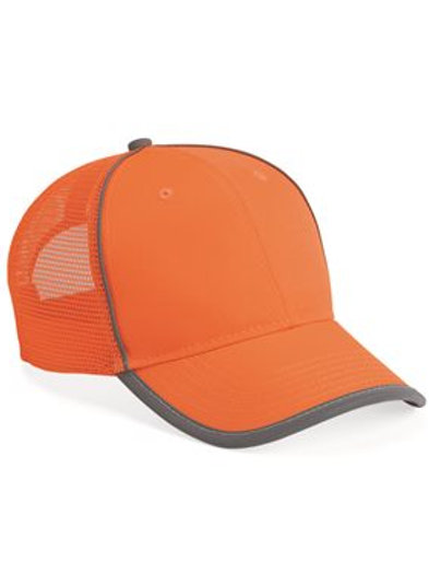 Outdoor Cap - Safety Mesh Back Cap - SAF300M