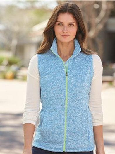 J. America - Women's Cosmic Fleece Vest - 8625