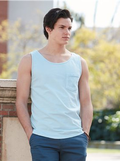 Comfort Colors - Garment Dyed Tank with a Pocket - 9330