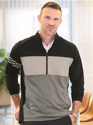 Adidas - 3-Stripes Competition Quarter Zip Pullover - A492