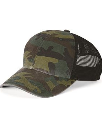 Richardson - Washed Printed Trucker Cap - 111P