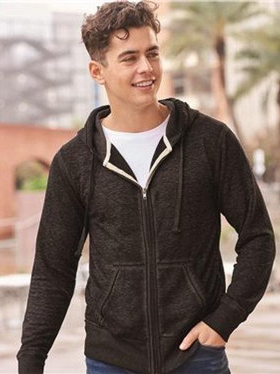 J. America - Vintage Zen Fleece Full-Zip Hooded Sweatshirt - 8916