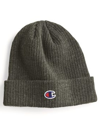 Champion - Ribbed Knit Cap - CS4003