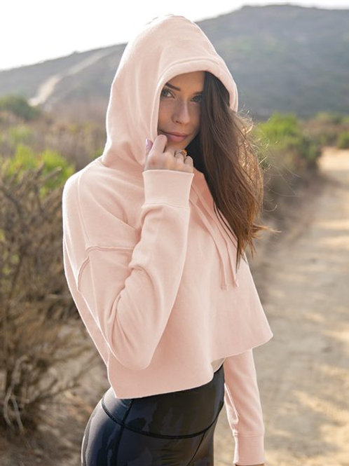 Independent Trading Co. - Womens Lightweight Cropped Hoody Sweatshirt - AFX64CRP