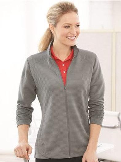 Adidas - Women's Textured Full-Zip Jacket - A416