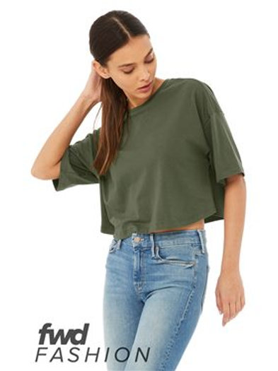 BELLA + CANVAS - FWD Fashion Women's Jersey Cropped Tee - 6482