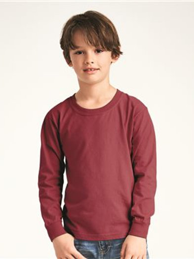 Comfort Colors - Garment-Dyed Youth Midweight Long Sleeve T-Shirt - 3483