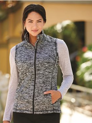 J. America - Women's Cosmic Fleece Vest - 8625