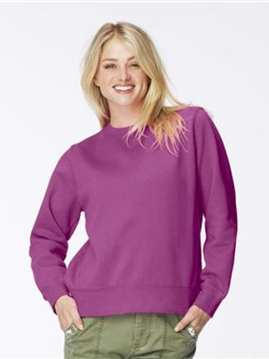Comfort Colors - Women's Garment-Dyed Sweatshirt - 1596
