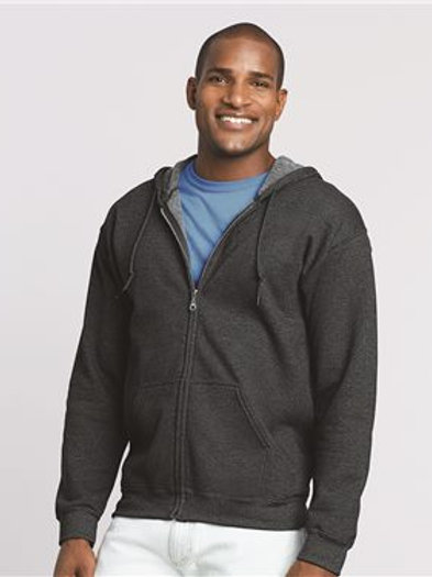 Gildan - Heavy Blend™ Full-Zip Hooded Sweatshirt - 18600
