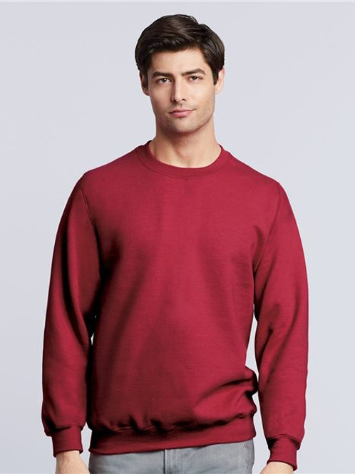 Gildan - Heavy Blend™ Crewneck Sweatshirt - 18000 Heather SS Red-White