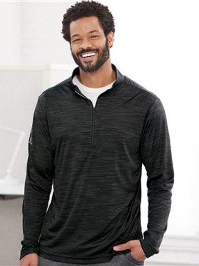 Adidas - Lightweight Melange Quarter-Zip Pullover - A475