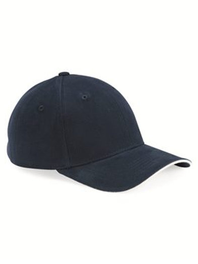 Sportsman - Heavy Brushed Twill Sandwich Cap - 2150