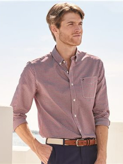 Tommy Hilfiger - 100s Two-Ply Gingham Shirt - 13H1863