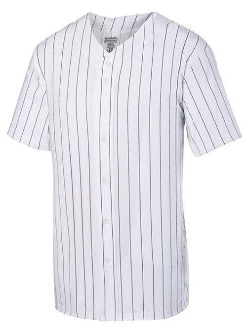 Augusta Sportswear - Pinstripe Full Button Baseball Jersey - 1685
