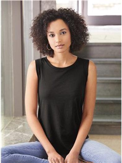 Alternative - Women's Satin Jersey Cap Sleeve Tee - 4013