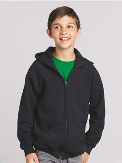 Gildan - Heavy Blend™ Youth Full-Zip Hooded Sweatshirt - 18600B