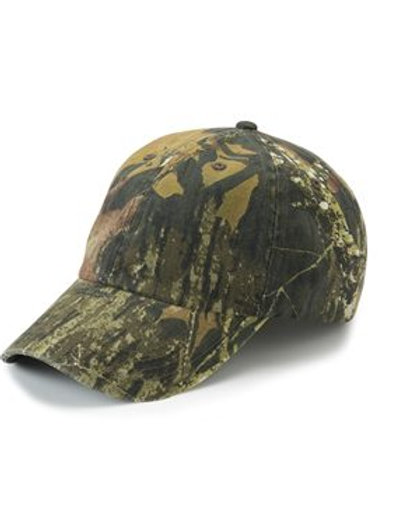 Outdoor Cap - Garment-Washed Camo Cap - CGW115