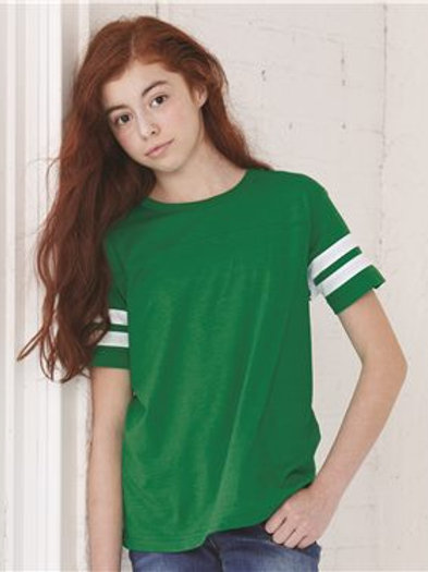 LAT - Youth Football Fine Jersey Tee - 6137