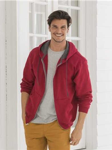 Fruit of the Loom - Sofspun Hooded Full-Zip Sweatshirt - SF73R