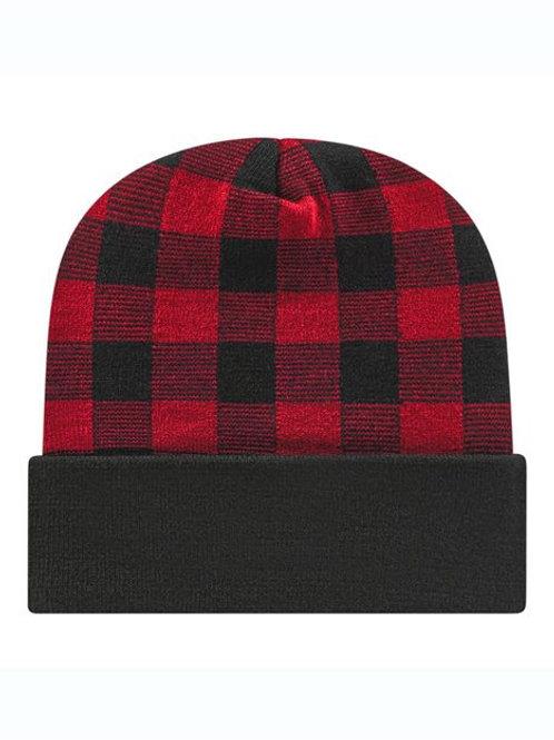CAP AMERICA - Plaid Knit with Cuff - RKP12