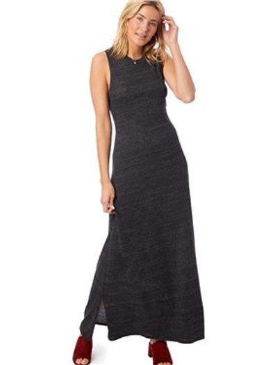 Alternative - Women's Eco-Jersey Side Slit Maxi Tank Dress - 2916