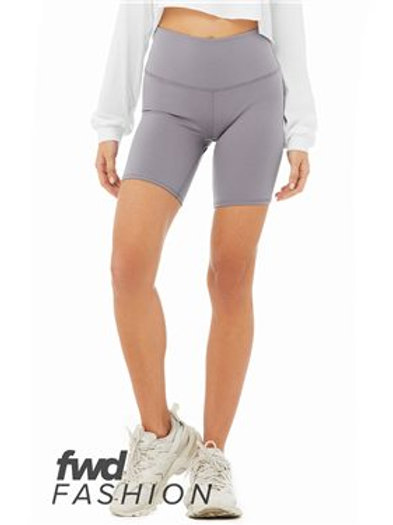 BELLA + CANVAS - FWD Fashion Women's High Waist Biker Shorts - 0814