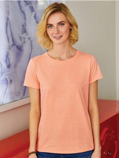 Hanes - ComfortSoft® Women's Short Sleeve T-Shirt - 5680