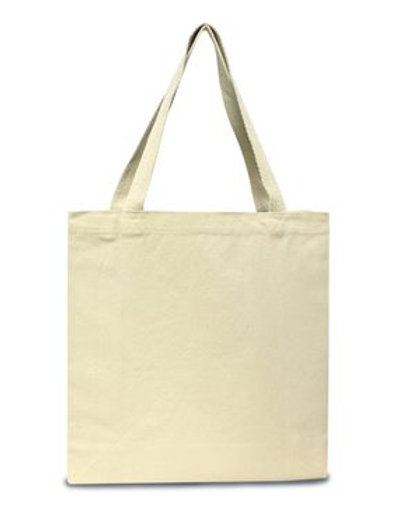 Liberty Bags - 12 Ounce Gusseted Cotton Canvas Tote - 8503