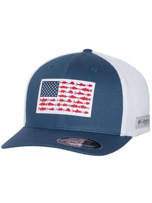 Columbia - PFG Fish Flag Mesh™ Flexfit Cap - 183681