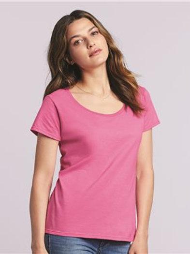 Gildan - Softstyle® Women's Deep Scoop Neck T-Shirt - 64550L
