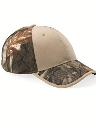 Kati - Solid Front Camouflage Cap - LC102