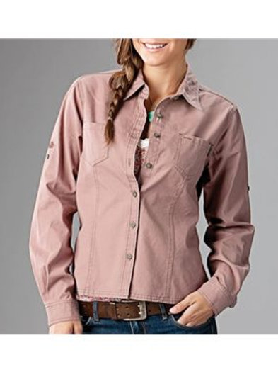 DRI DUCK - Sawtooth Collection Women's Mortar Long Sleeve Shirt - 8284