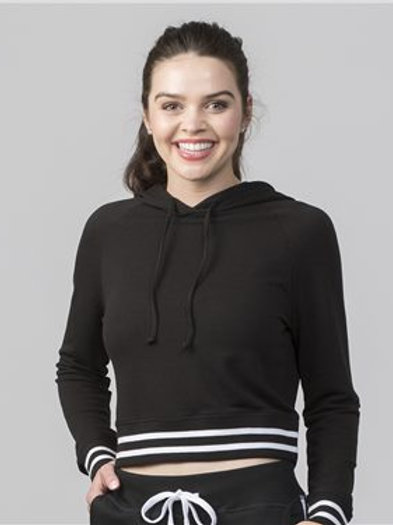 Boxercraft - Women's Hooded Cropped Sweatshirt - R42