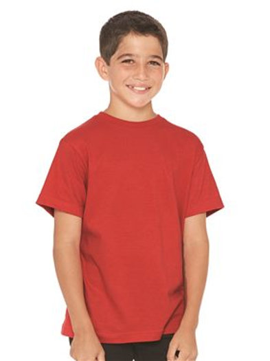 LAT - Youth Heavyweight Combed Ringspun Cotton T-Shirt - 6180