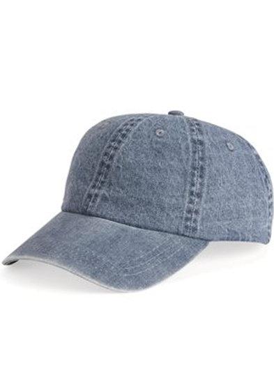 Mega Cap - Washed Denim Cap - 7610