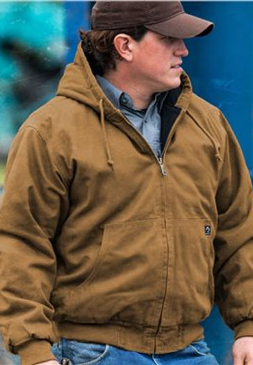 DRI DUCK - Cheyenne Boulder Cloth™ Hooded Jacket with Tricot Quilt Lining - 5020