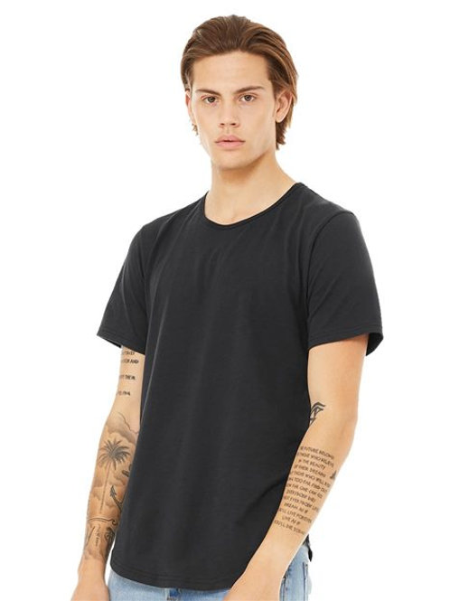 BELLA + CANVAS - Jersey Curved Hem Tee - 3003