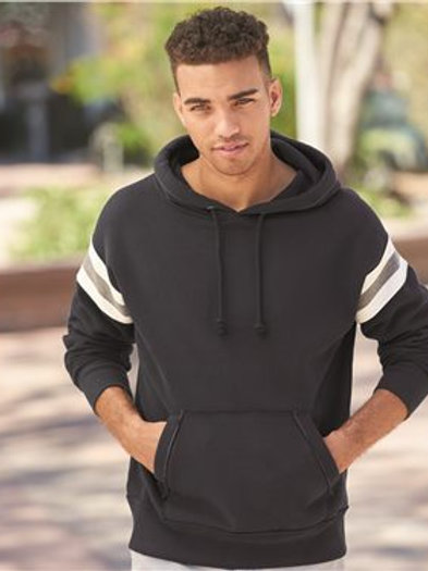 J. America - Vintage Athletic Hooded Sweatshirt - 8847