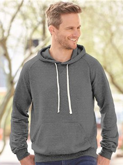 JERZEES - Snow Heather French Terry Pullover Hood Sweatshirt - 90MR