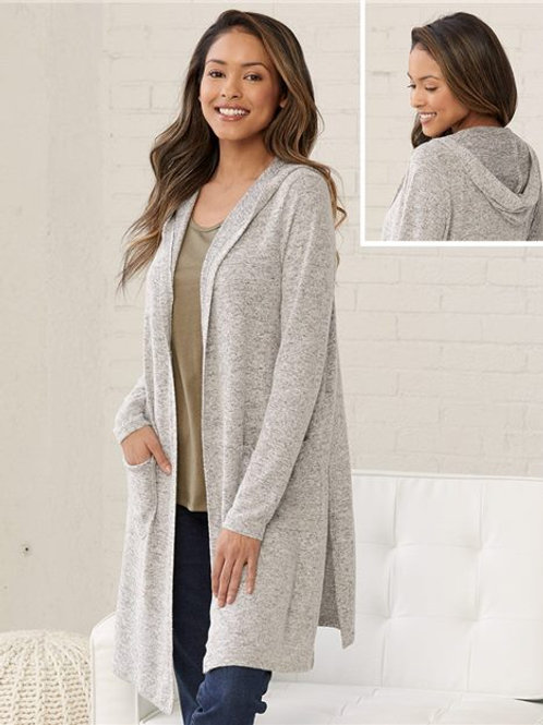 Boxercraft - Women's Cuddle Fleece Cardigan - L08