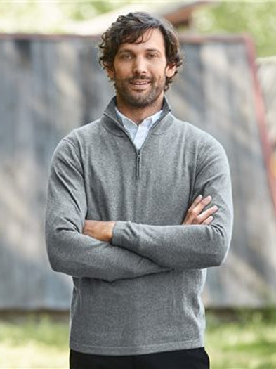 Weatherproof - Vintage Cotton Cashmere Quarter-Zip Sweater - 151391
